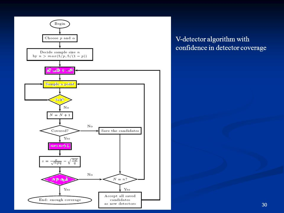 30contribution V-detector algorithm with confidence in detector coverage