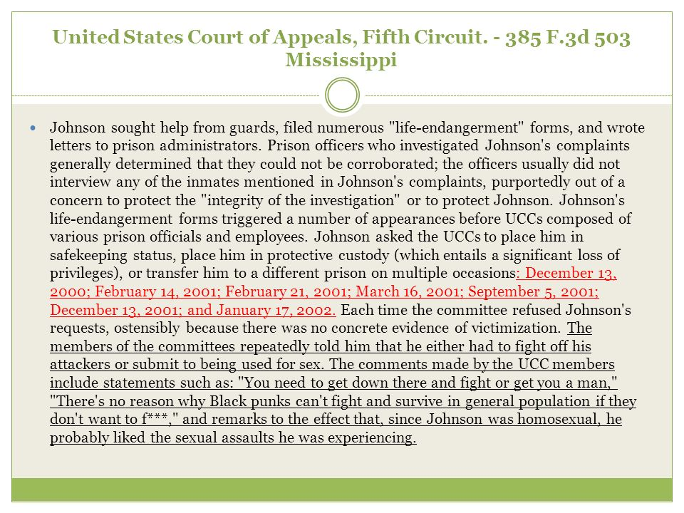 United States Court of Appeals, Fifth Circuit.