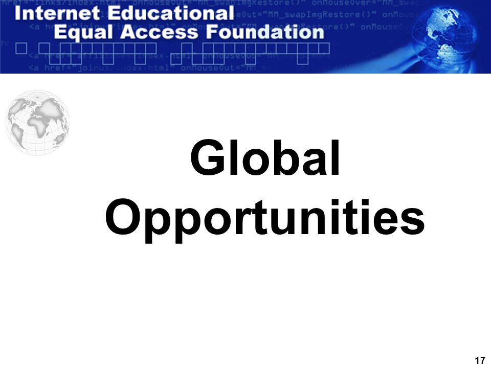 17 Global Opportunities