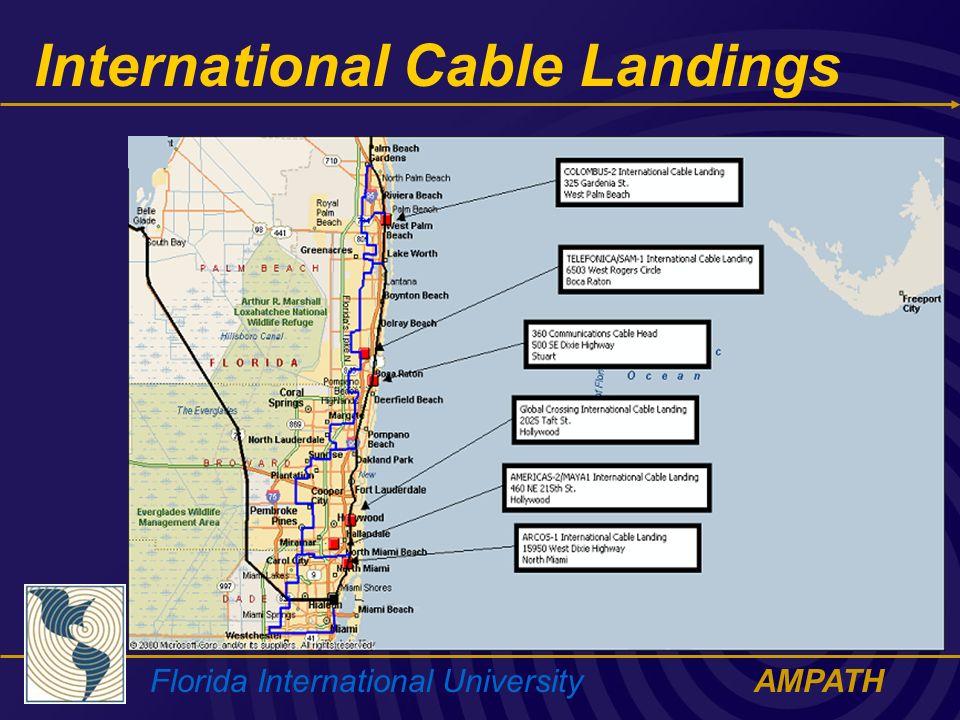 Florida International UniversityAMPATH International Cable Landings