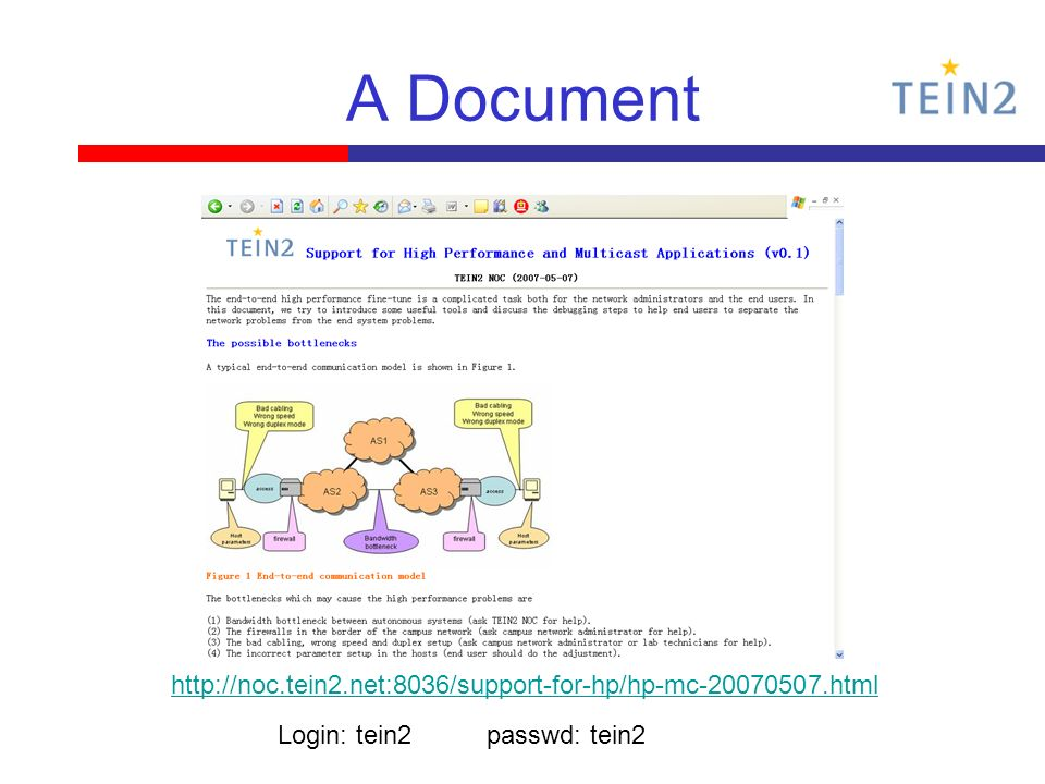 A Document   Login: tein2passwd: tein2