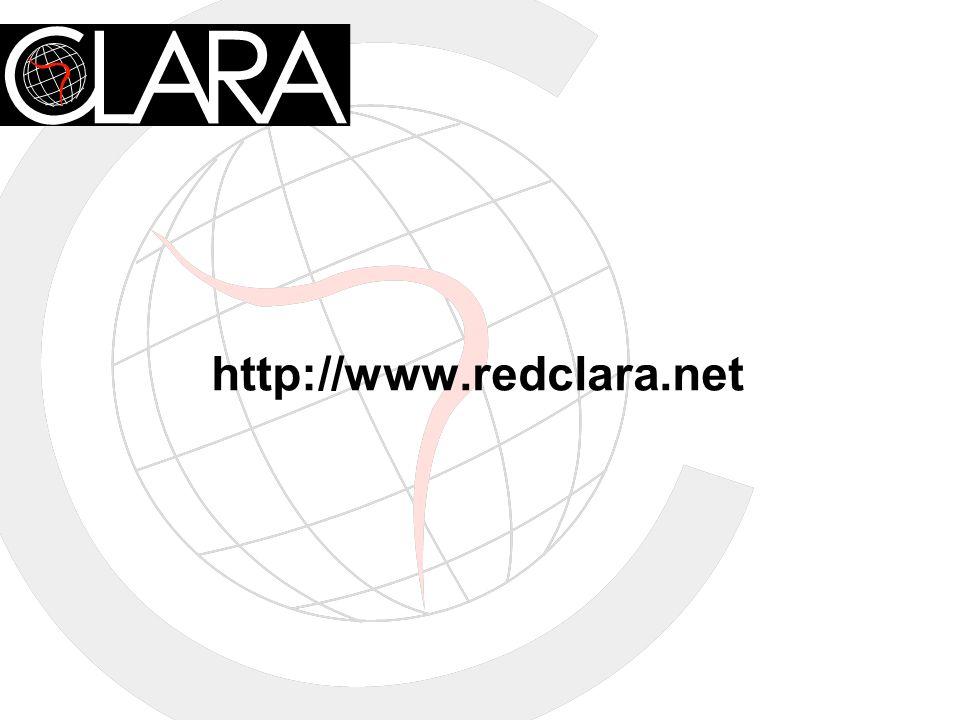 http://www.redclara.net