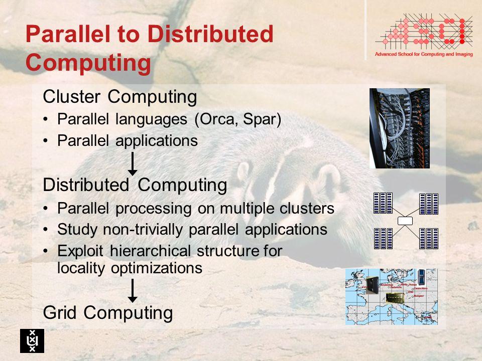 DAS-2 Usage 200 users; 25 Ph.D.