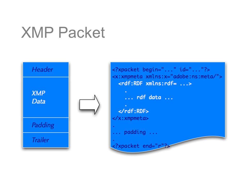 XMP Packet