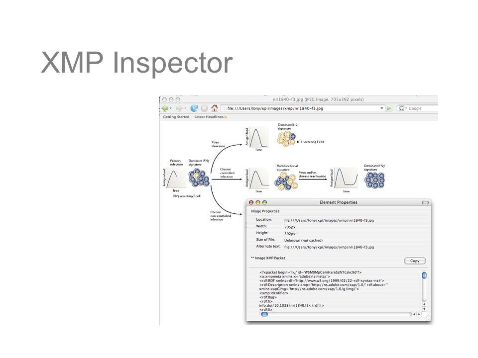 XMP Inspector