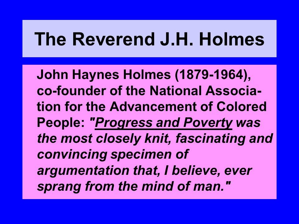 The Reverend J.H.
