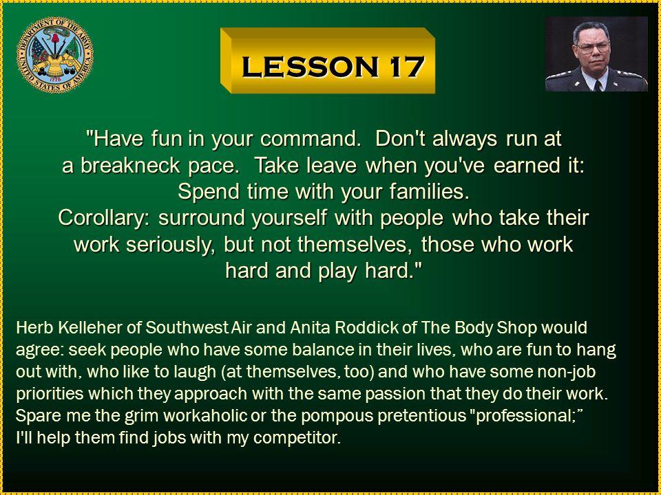 LESSON 16