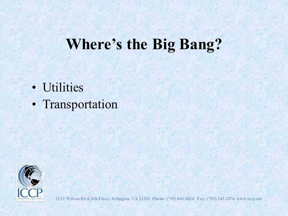 Wheres the Big Bang.