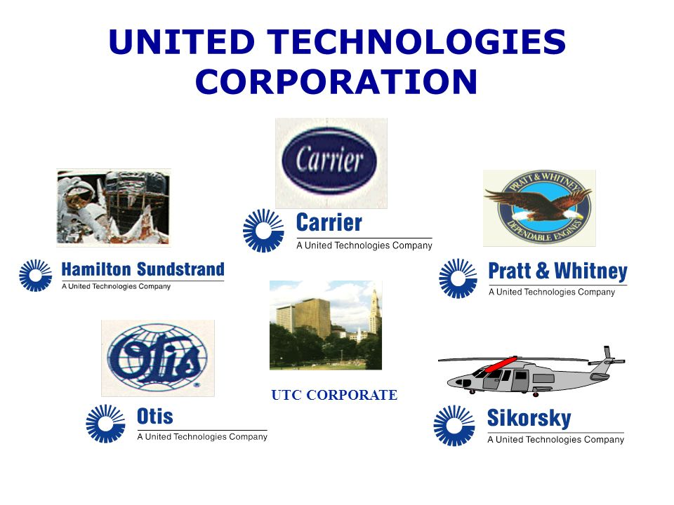 UNITED TECHNOLOGIES CORPORATION UTC CORPORATE