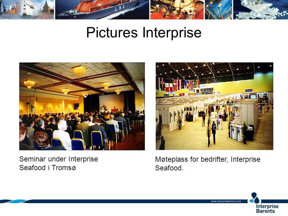 Pictures Interprise Møteplass for bedrifter, Interprise Seafood.