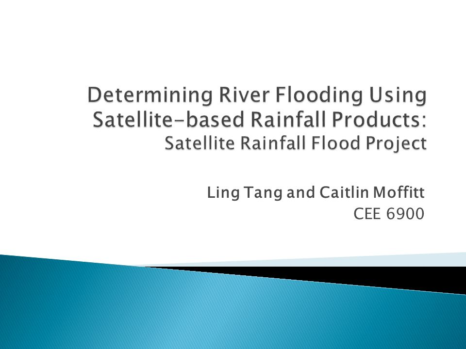 3B42RT shows stronger indication of high rainfall upstream from flood points