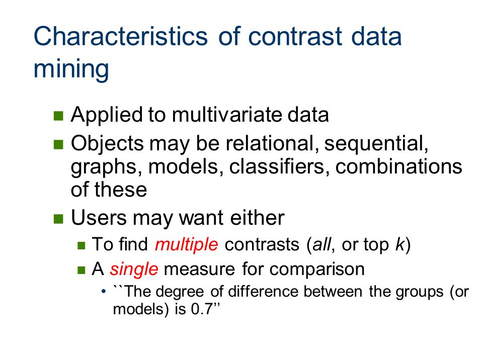 Graph Containment Example [From Chen et al 07] gaga gbgb gcgc f1f1 111 f2f2 110 f3f3 110 f4f4 100 (g a ) (g b )(g c ) A Sample Database (f 1 ) (f 2 )(f 3 ) (f 4 ) Features