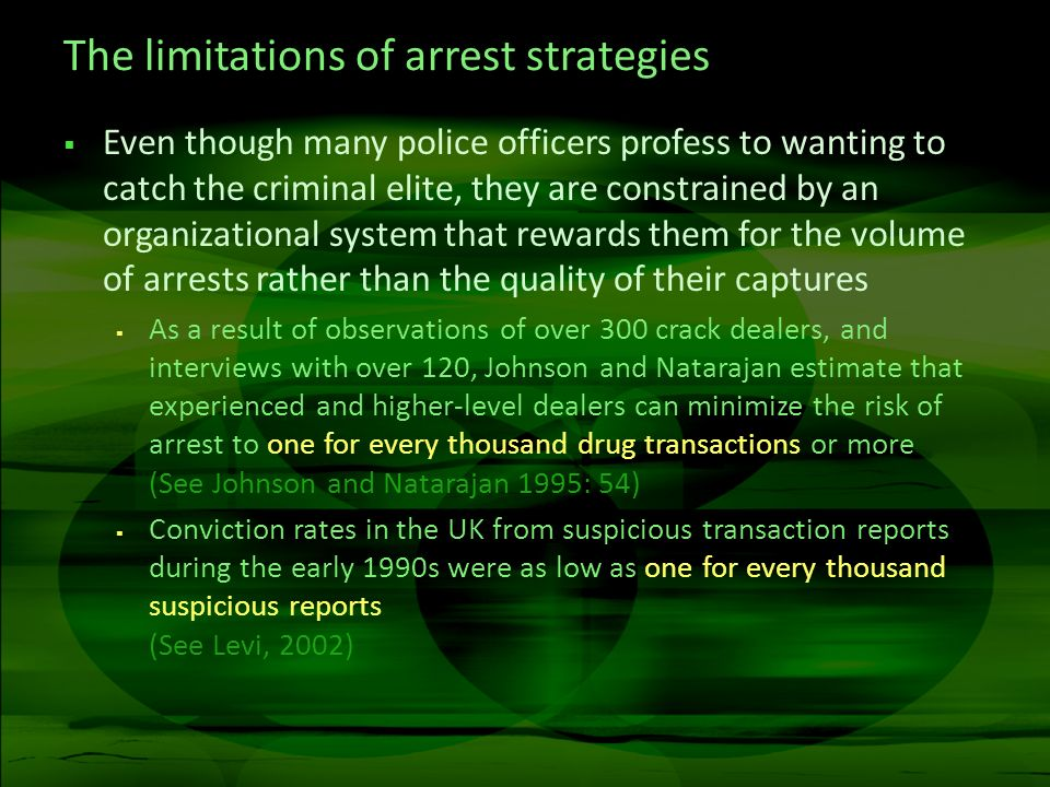 The benefits of crime prevention Original funnel10% Decrease in actual crime Actual offenses1000900 Reported to police410369 Recorded by police287258 Detected offenses7567 Charged or summoned3734 Proceeded against at court2119 Found guilty1514 Custodial sentence3.73.4