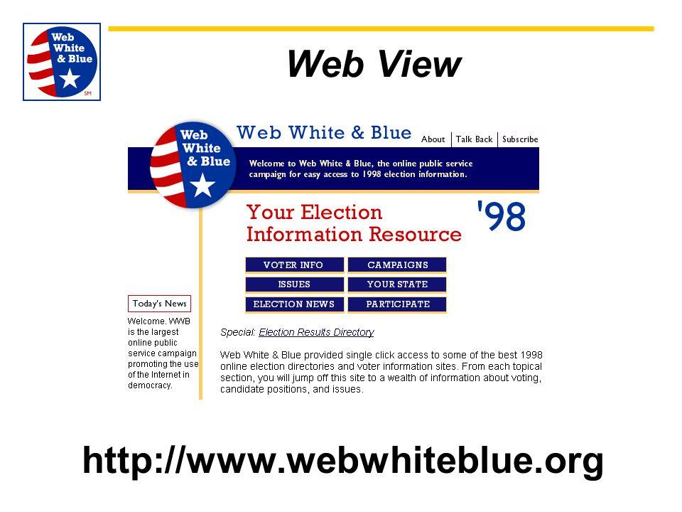 Web View http://www.webwhiteblue.org