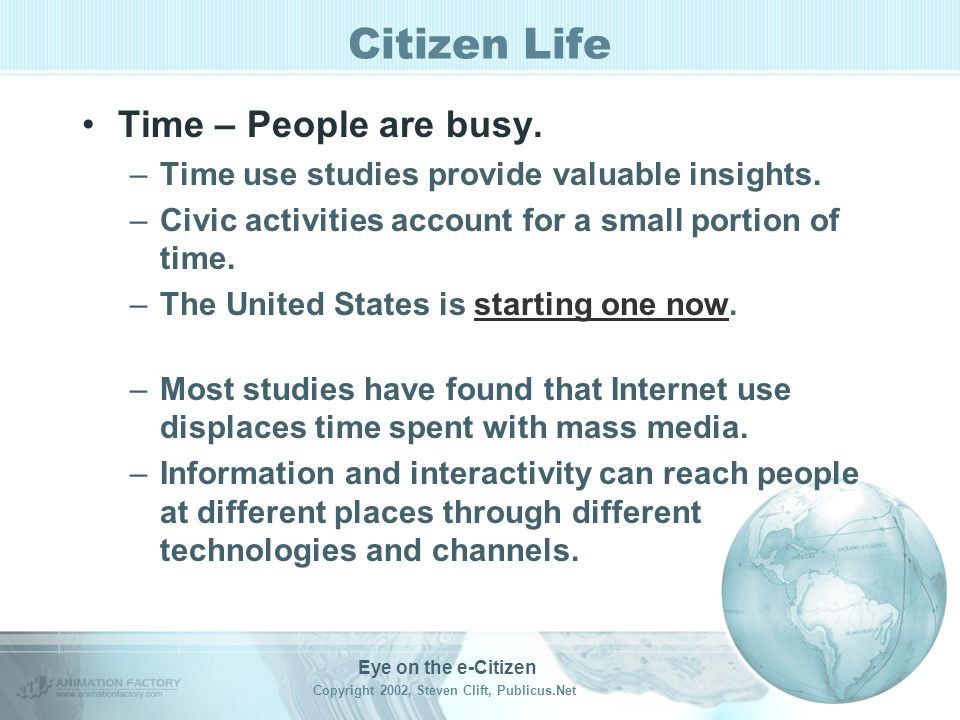 Citizen Life