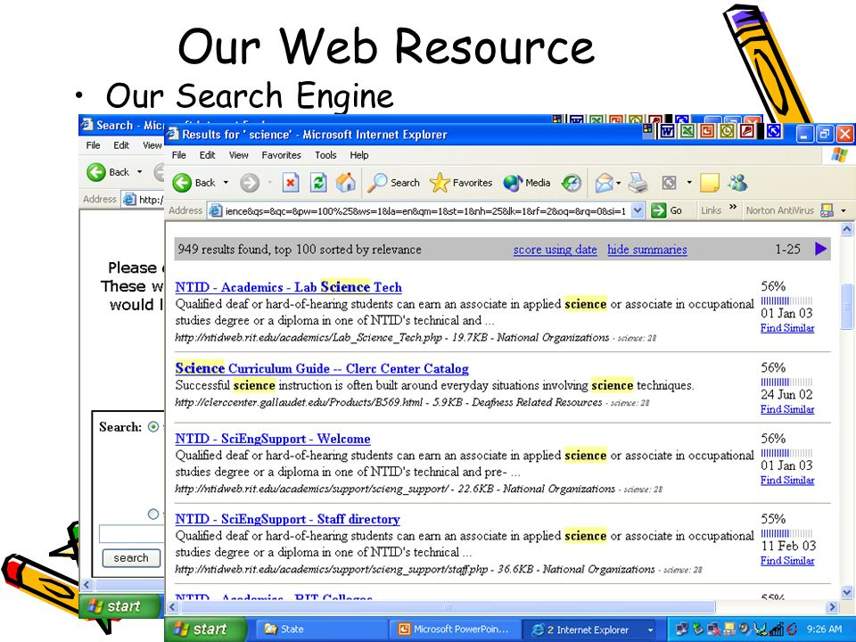 H Johnson12 Our Web Resource Our Search Engine