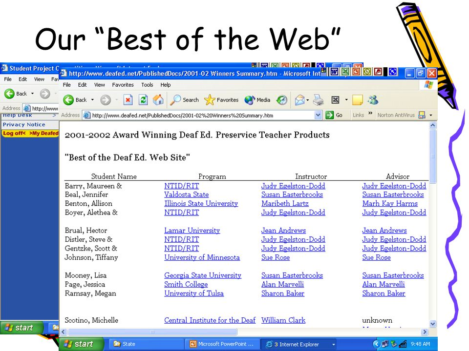 H Johnson16 Our Best of the Web