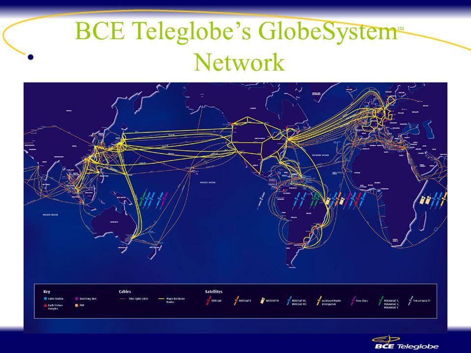 BCE Teleglobes GlobeSystem sm Network