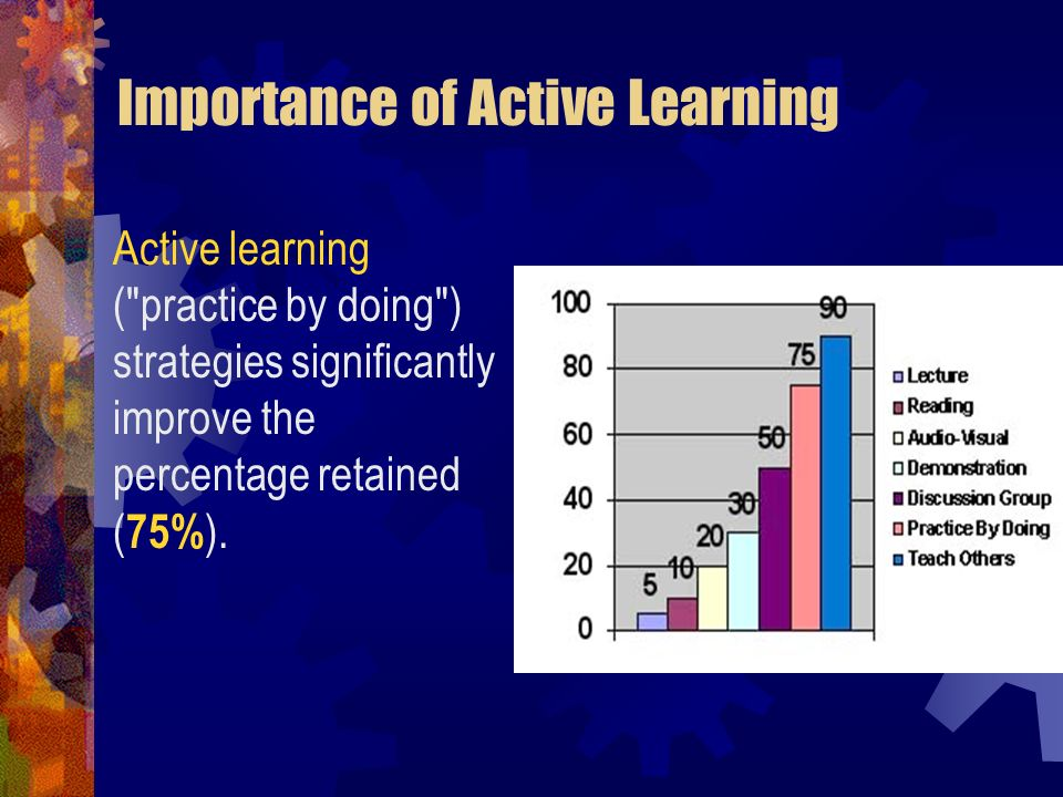 Importance of Active Learning Active learning (