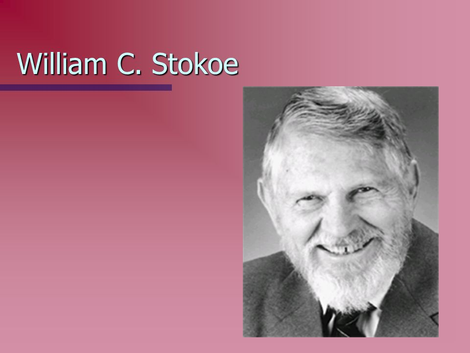 William C. Stokoe