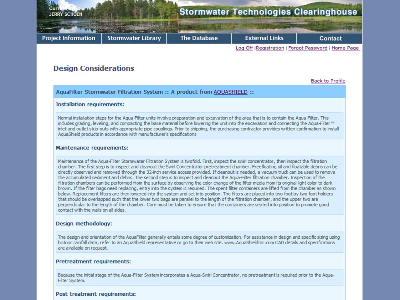 Massachusetts Stormwater Technology Evaluation Project, UMass