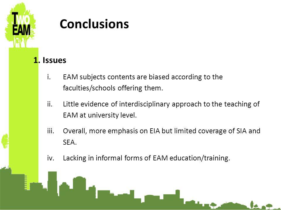 23-24 Sept 2010, University of Graz, Austria Conclusions 1.