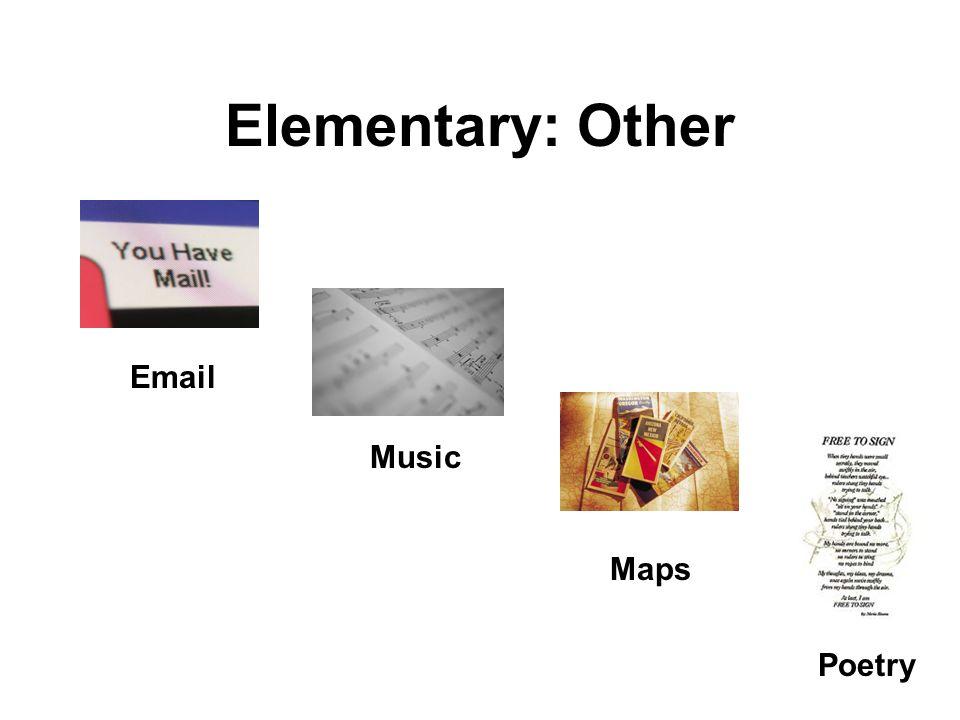 Elementary: News
