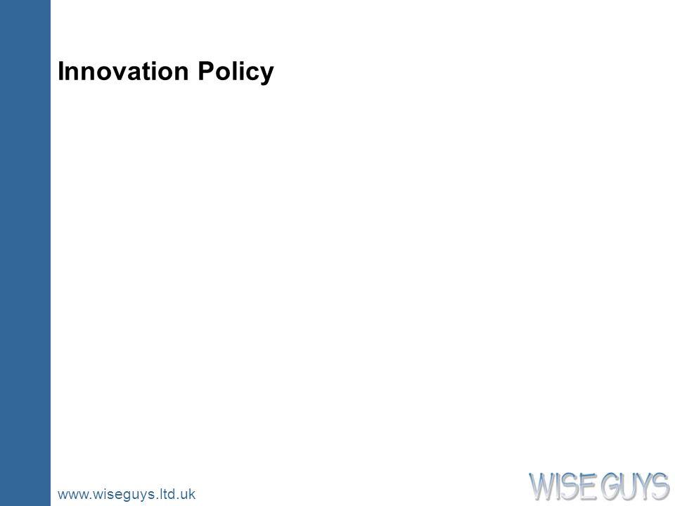 www.wiseguys.ltd.uk Innovation Policy