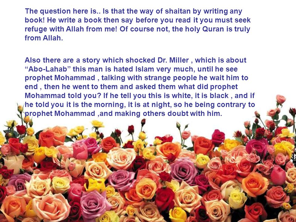 The question here is.. Is that the way of shaitan by writing any book! He write a book then say before you read it you must seek refuge with Allah fro