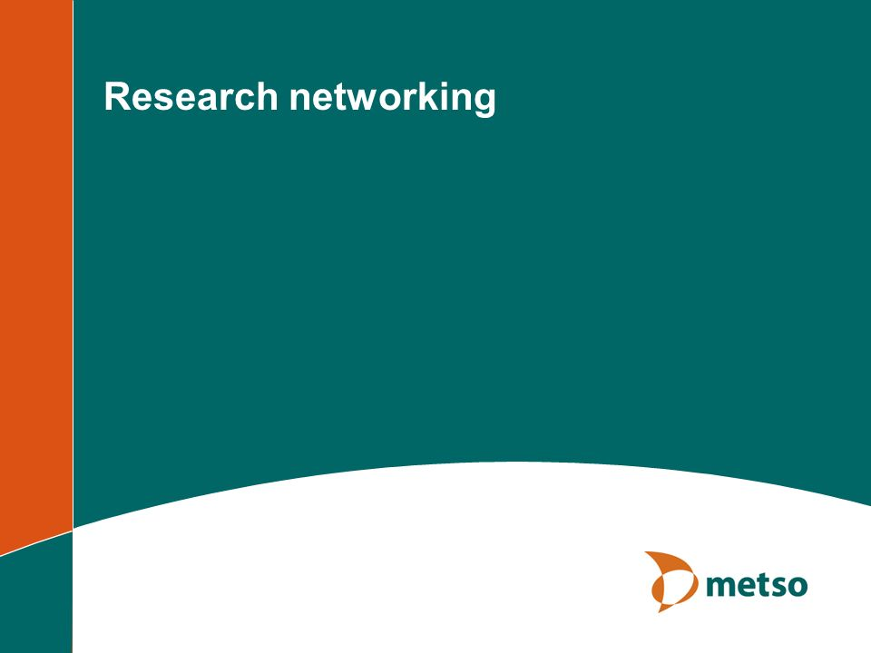 Research networking