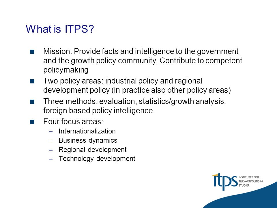 What is ITPS.