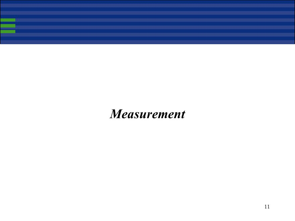 11 Measurement