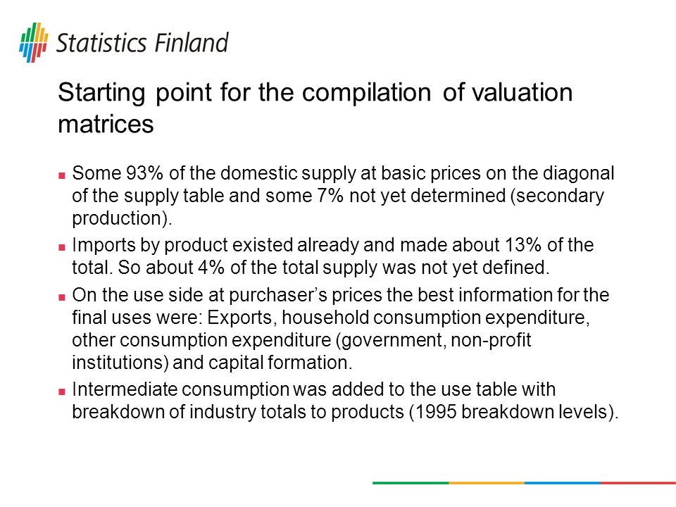 Other taxes on products and subsidies on products (continued...) Table 1.
