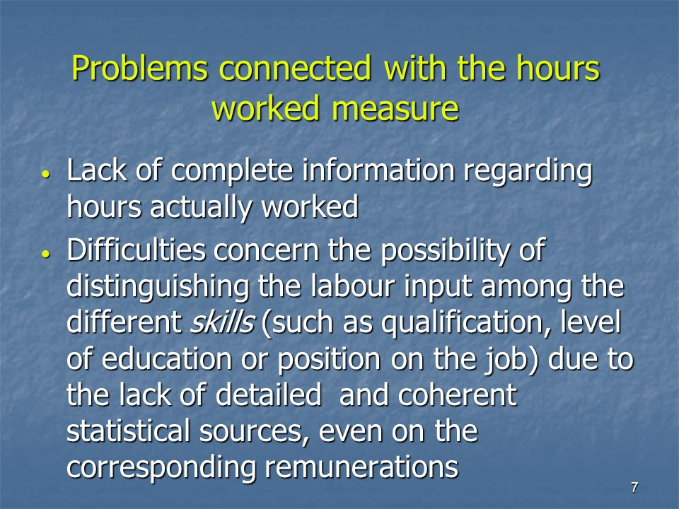 8 In the NA framework, compensation of employees are coherent with jobs, Full Time Equivalent units and hours actually worked In the NA framework, compensation of employees are coherent with jobs, Full Time Equivalent units and hours actually worked Main sources: business surveys and social security data base Main sources: business surveys and social security data base Compensation of employees: main data sources