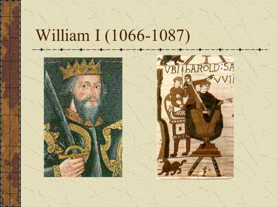 William I (1066-1087)