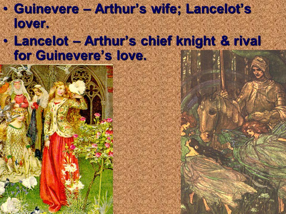 Sir Kay – son of Sir Ector; raised as Arthurs step- brother.Sir Kay – son of Sir Ector; raised as Arthurs step- brother. Mordred – Arthurs nephew; sei