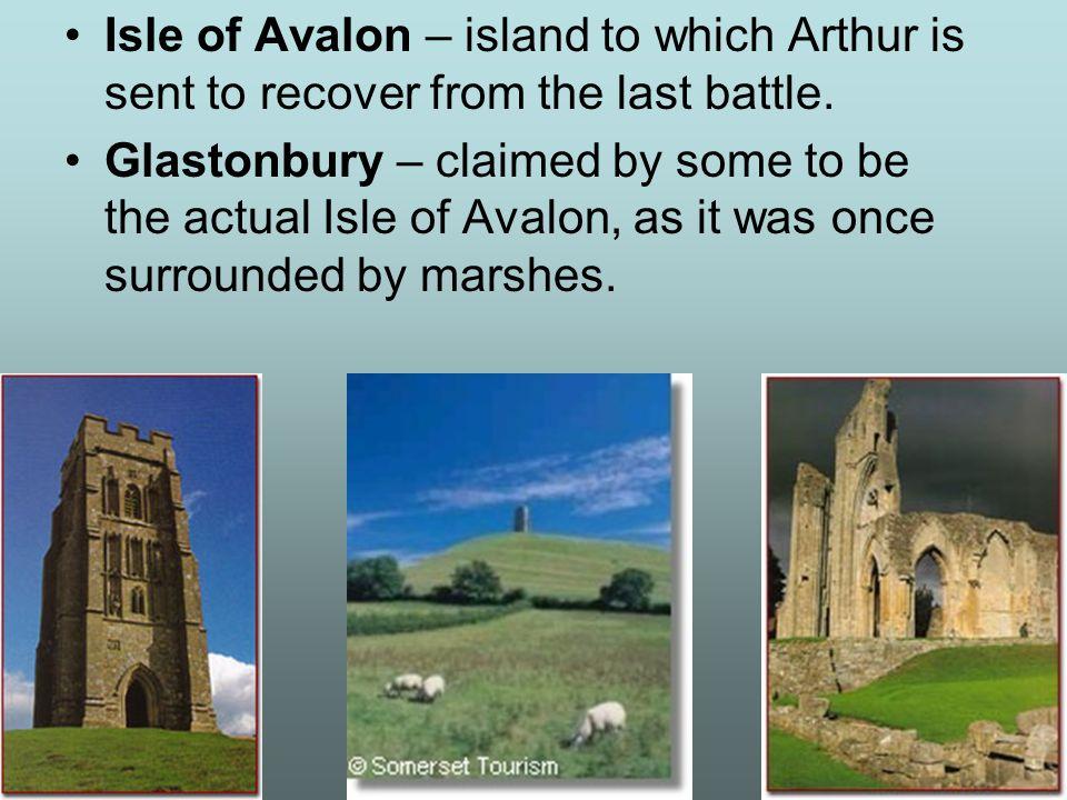 Tintagel Castle – conception place of Arthur.