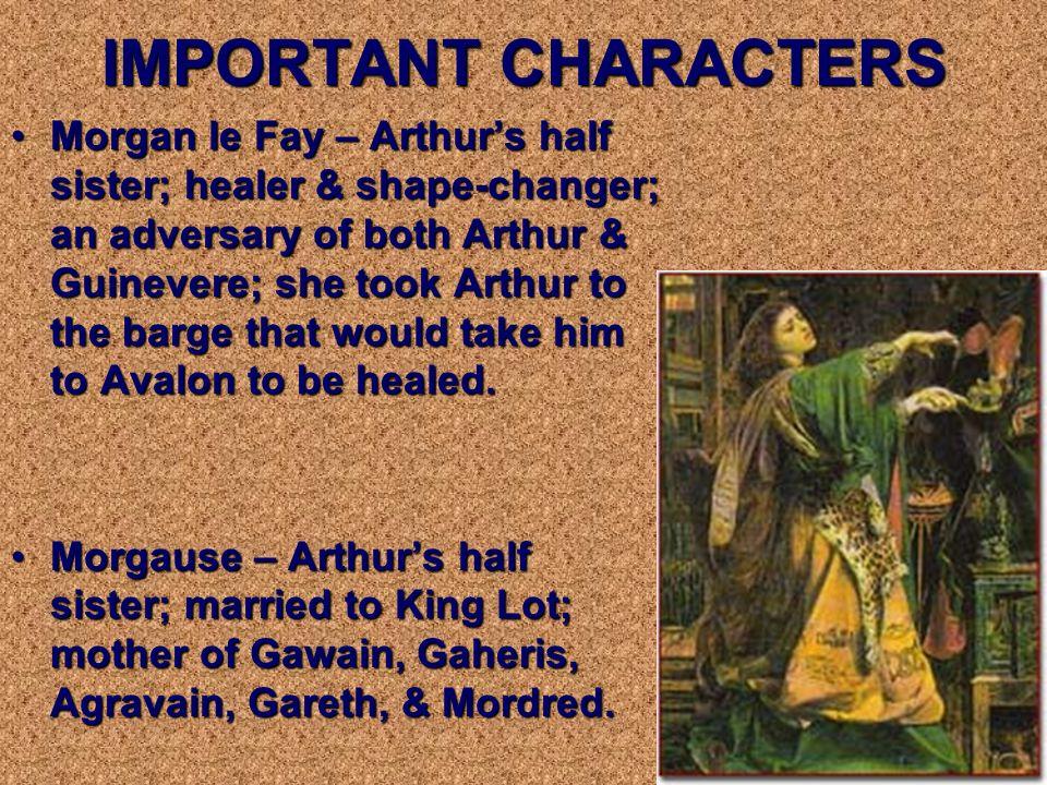 Igraine – Arthurs biological motherIgraine – Arthurs biological mother Sir Ector - Arthurs adoptive fatherSir Ector - Arthurs adoptive father Merlin –