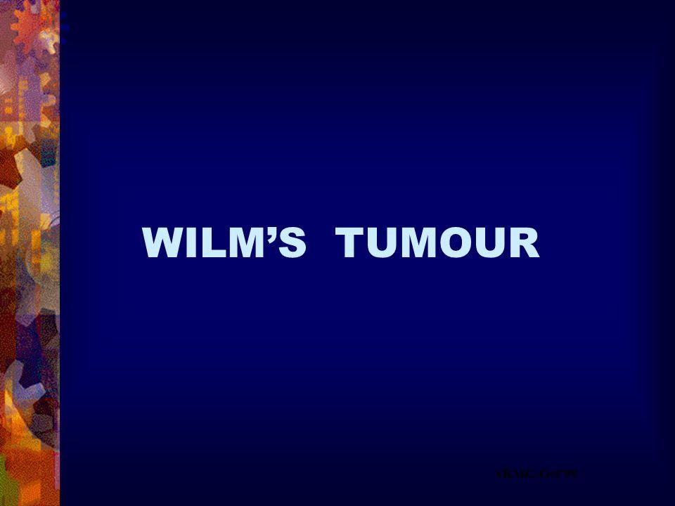 SRMC-Oct99 WILMS TUMOUR