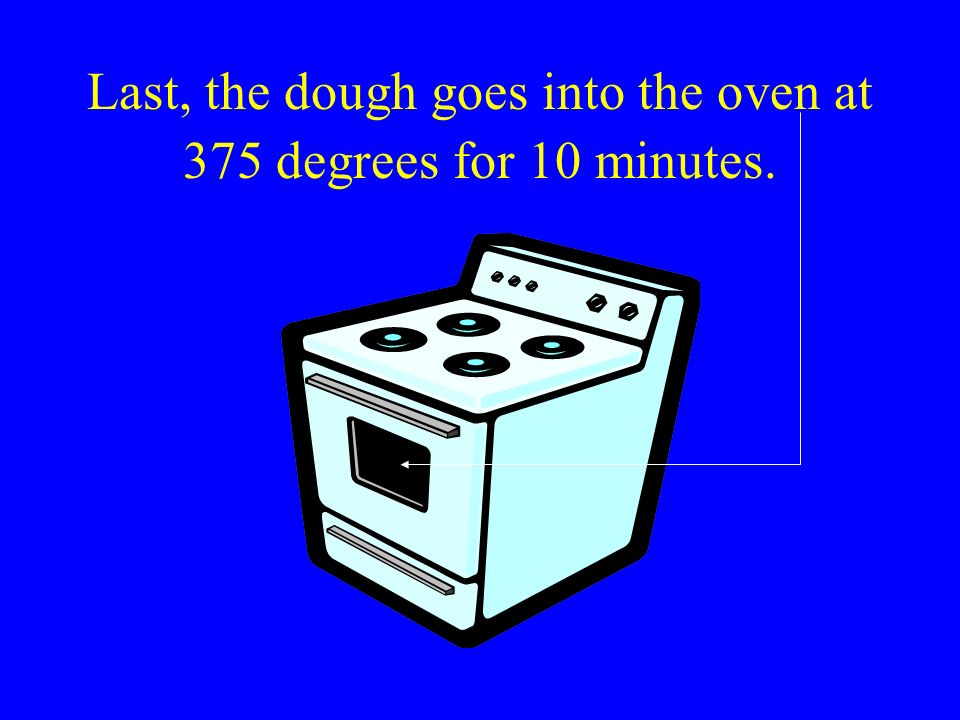 It is time to make our dough into a shape.