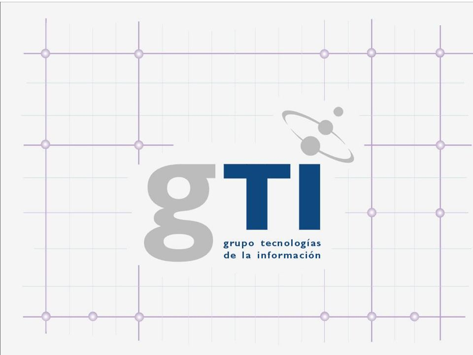 Created in January 16 th 2001, by Resolution 10/2001of the Minister of Computing and Communications of the Republic of Cuba, the Information Technologies Group (GTI) is an state economic organization, with independent legal personality and a patrimony of its own.