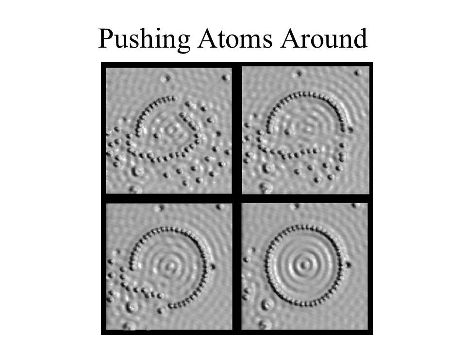 Pushing Atoms Around