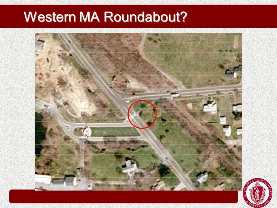 Western MA Roundabout