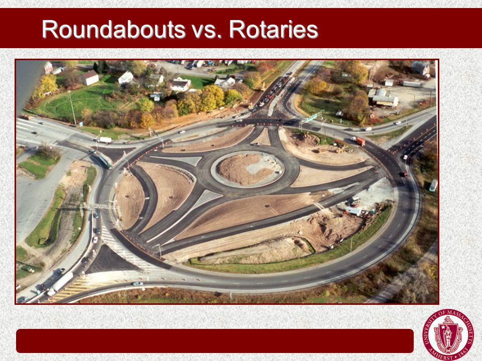 Roundabouts vs. Rotaries