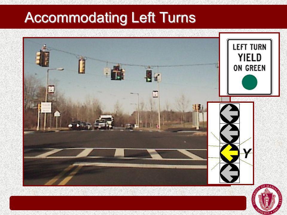Accommodating Left Turns