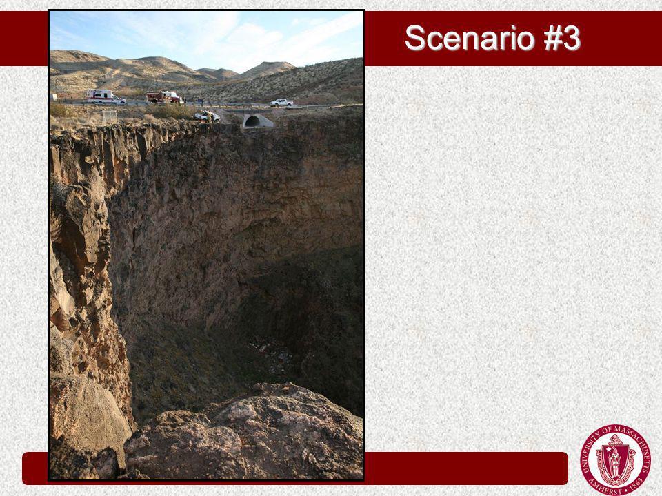 Scenario #3 Scenario #3
