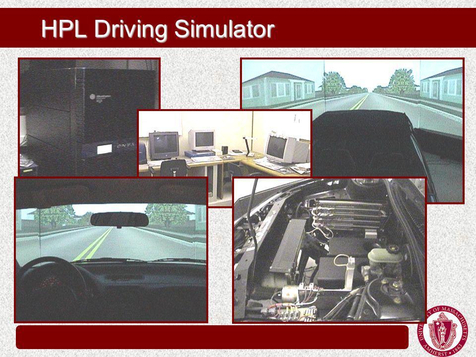 HPL Driving Simulator