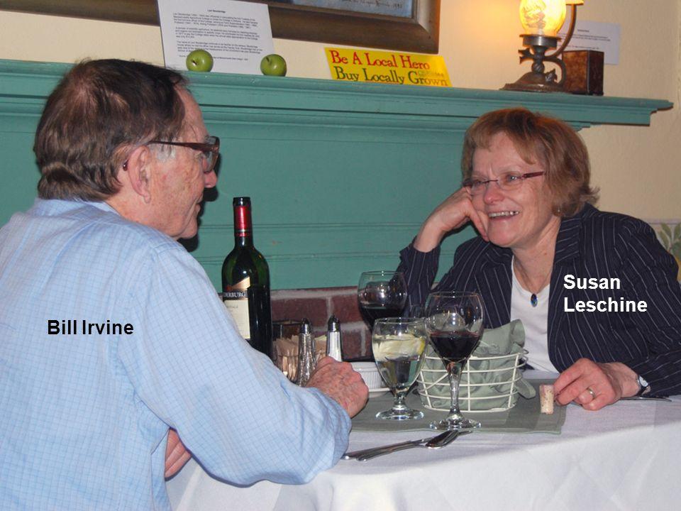 Bill Irvine Susan Leschine