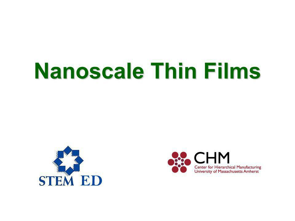 Nanoscale Thin Films