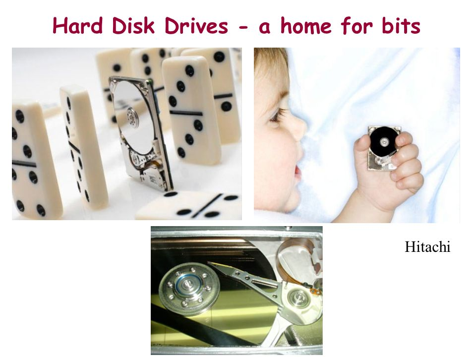 Hard Disk Drives - a home for bits Hitachi